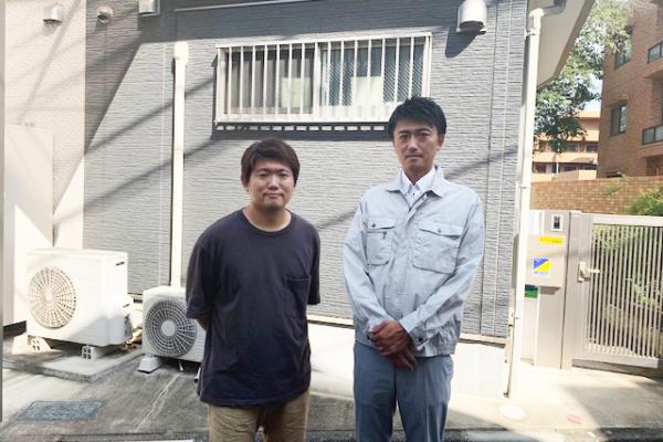 屋根塗装、棟鈑金交換、外壁塗装 千葉県船橋市 N様