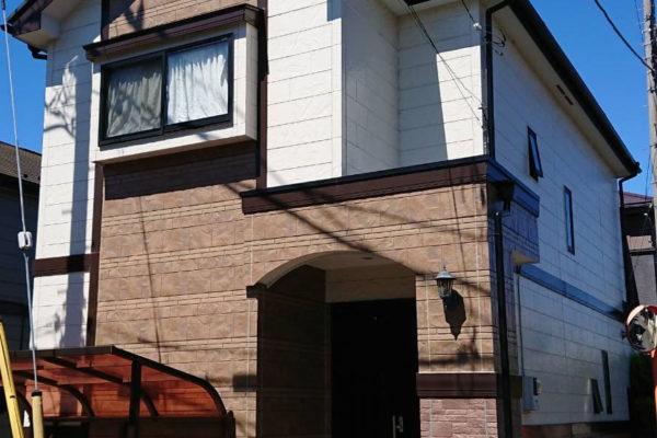 白井市 外壁塗装・屋根塗装 ピュアライドUVプロテクトクリヤー
