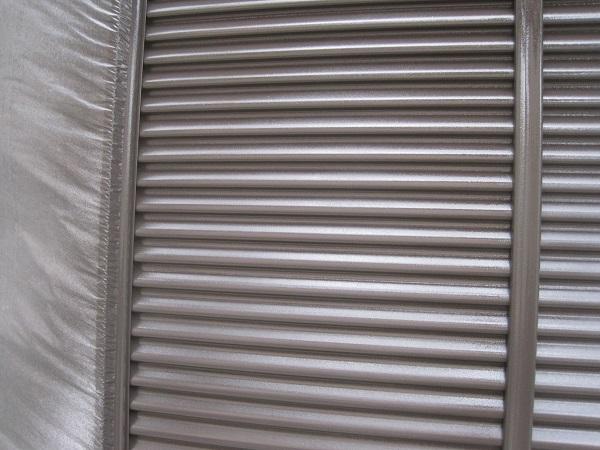 千葉県習志野市 外壁塗装 付帯部塗装 雨戸 吹き付け工法 光触媒塗料 ピュアコート ピアレックス