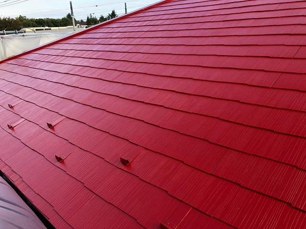 千葉県船橋市 屋根塗装 外壁塗装 タスペーサー セミフロンマイルドII