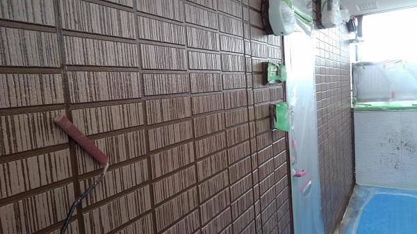 千葉県白井市 外壁塗装 アパート塗装 エスケー化研 エスケープレミアムシリコン