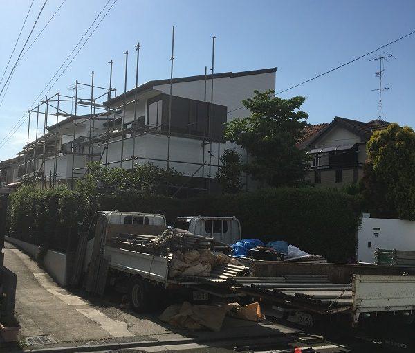 千葉県市川市 外壁塗装 カラーシュミレーション 高圧洗浄