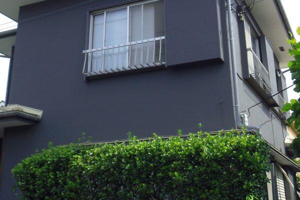 市川市 外壁塗装 コーキング工事 付帯部ケレン作業 付帯部塗装