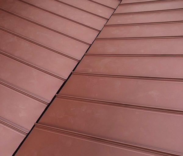 山梨県大月市 屋根工事 屋根カバー工法 ガルバリウム鋼板