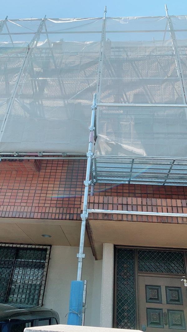 千葉県鎌ケ谷市 外壁塗装 屋根塗装 こんな営業には要注意 足場設置