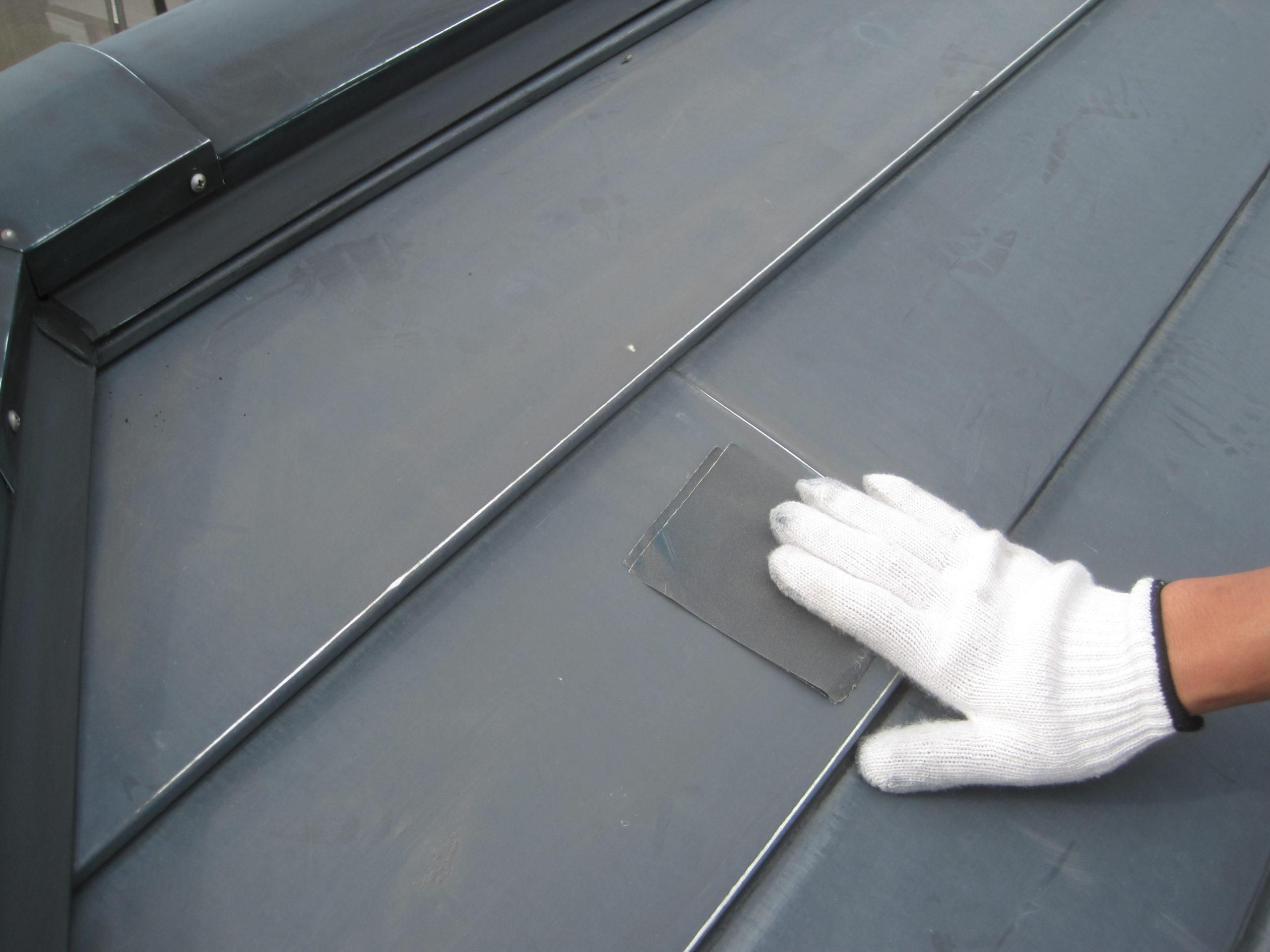 千葉県市川市 屋根塗装 暑さ対策塗料 スーパーシャネツサーモ