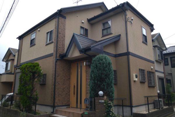 ジョリパット外壁塗装 千葉県船橋市 M様邸