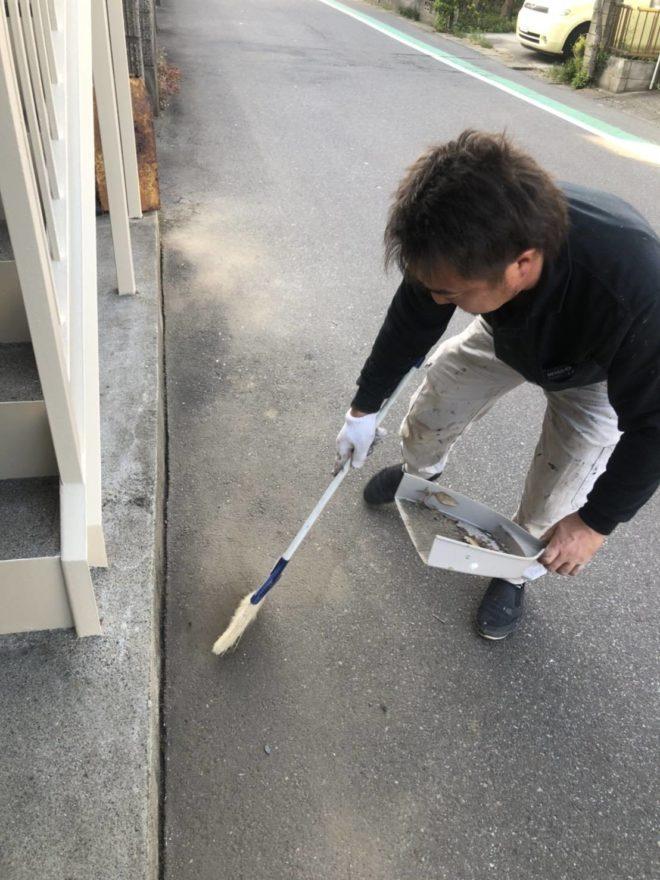 船橋市の地域清掃活動を行いました!