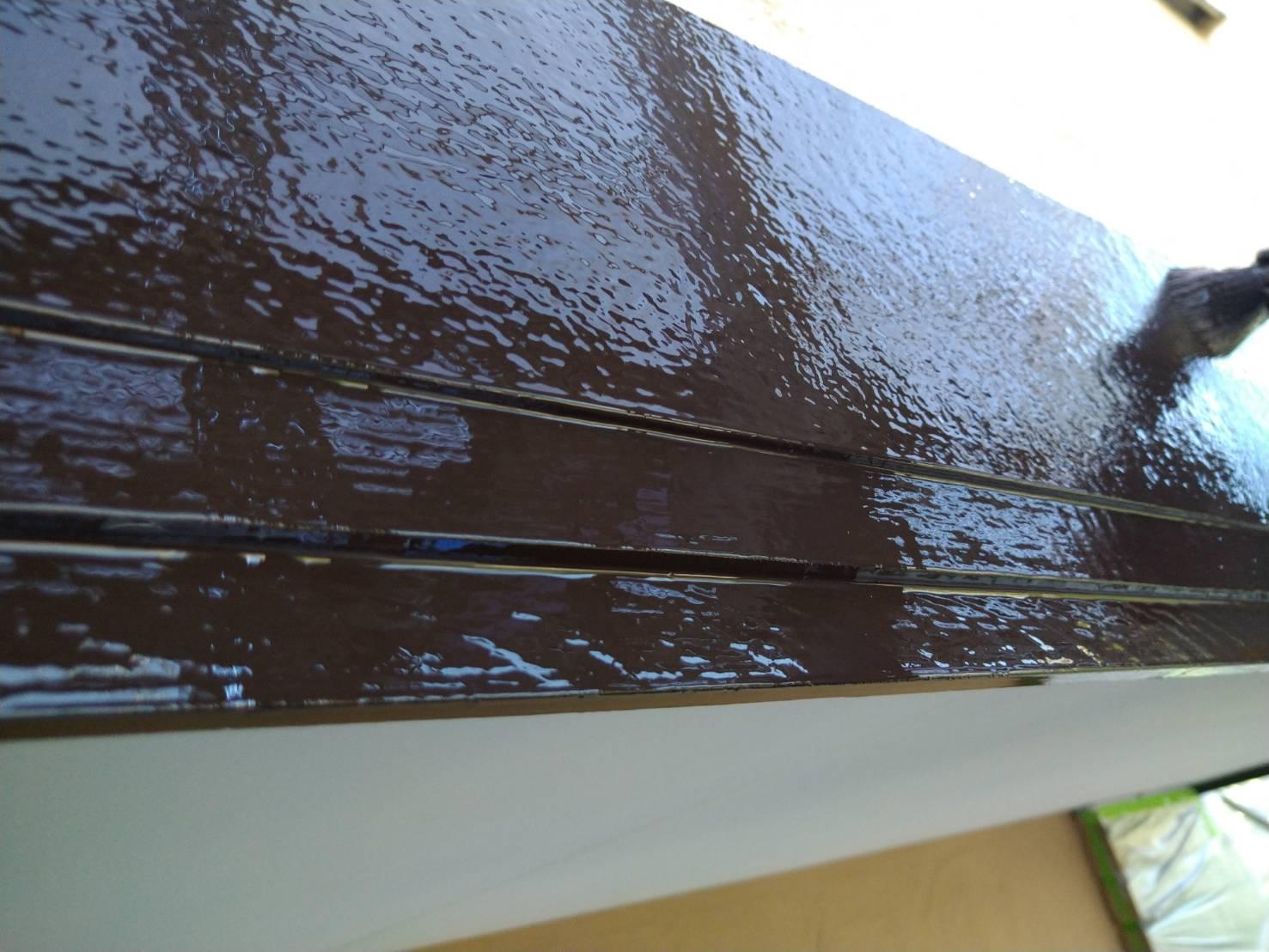破風板塗装の画像