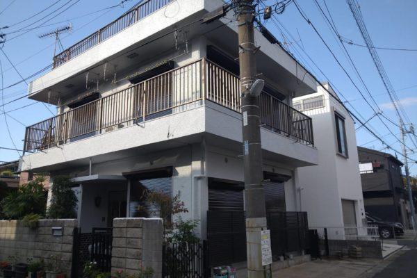 千葉県船橋市 外壁・付帯塗装工事