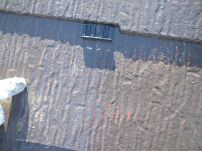 屋根タスペーサー設置の画像
