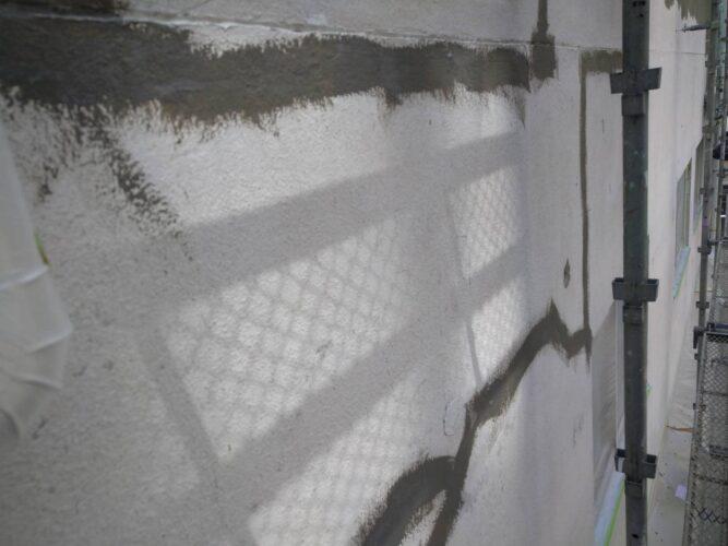 外壁クラック補修の画像
